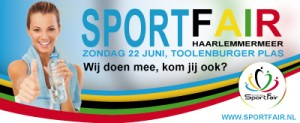 Sport Fair, 22 juni, Toolenburger plas